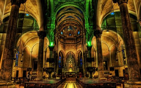 cathedral hd wallpaper background image  id