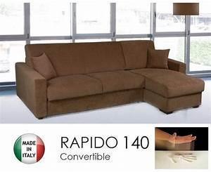 canape d39angle convertible rapido 140cm dreamer tissu With nettoyage tapis avec canape convertible rapido dreamer