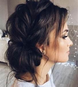 Tresse Facile à Faire Soi Même : coiffures tresse sur le cot et chignon d coiff coiffure mariage femme tr s facile cr er ~ Melissatoandfro.com Idées de Décoration