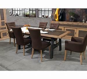 Table De Drapier : table de drapier pied m tal et ch ne massif en 220 cm 5774 ~ Teatrodelosmanantiales.com Idées de Décoration