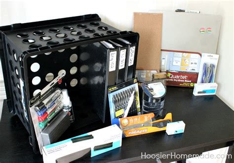 Back To Desk Organization Hoosier Homemade