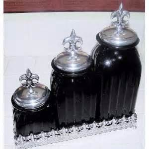 black kitchen canister 15 glass decorative bronze kitchen canister set 2 on popscreen