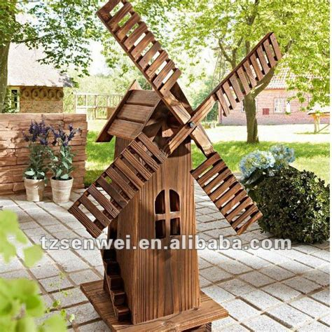 wooden windmill ideas  pinterest