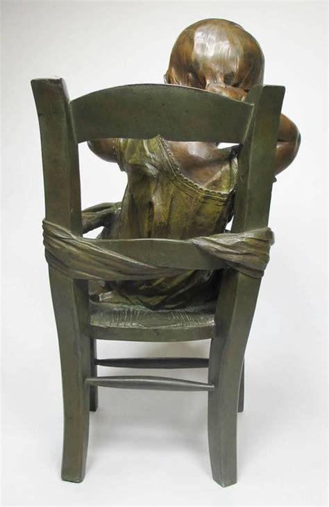chaise assis 19th century patinated bronze sculpture quot l 39 enfant