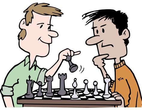 what is the color of clipart chess players colour