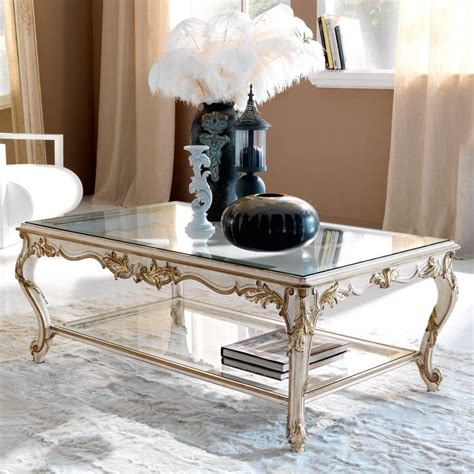 Industrial coffee table with storage shelf, square bedside table coffee table uk. High End Italian Designer Glass Coffee Table in 2020 | Coffee table, Glass coffee table, Round ...