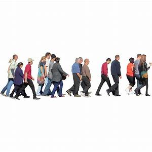 Crowd Crossing the Street - Immediate Entourage