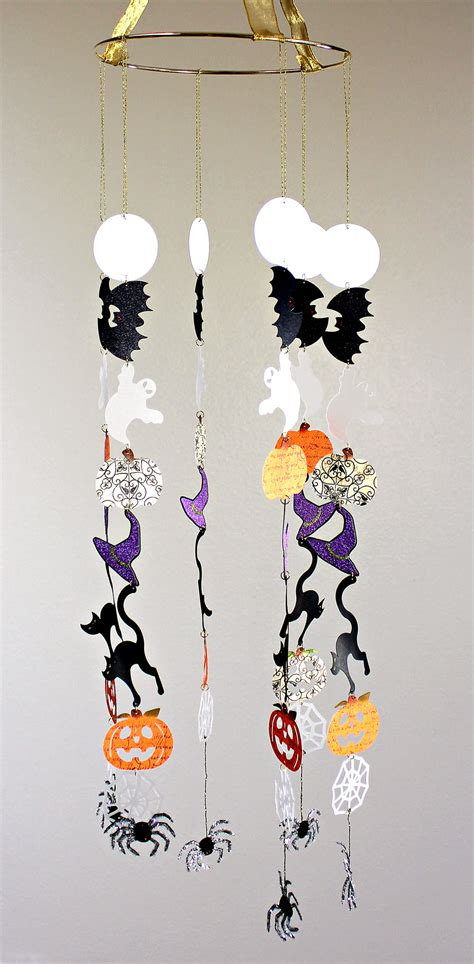 hanging halloween mobile pazzles craft room