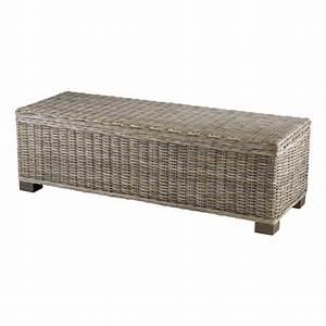 Bout de lit coffre en kubu 130 cm zago store for Tapis de course pas cher avec canapé 2 places 130 cm