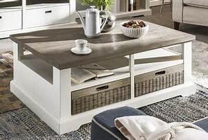 Wohnzimmertisch Holz Weiß : wohnwand mallorca von habufa m bel letz ihr online shop ~ Frokenaadalensverden.com Haus und Dekorationen