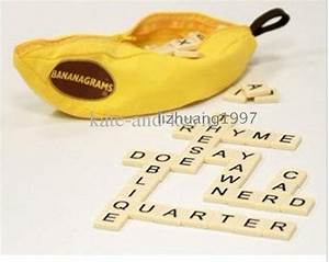 banana word game scrabble game crossword word wholesale With banana letter game