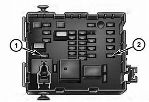 Dodge Journey  2011 - 2013   U2013 Fuse Box Diagram