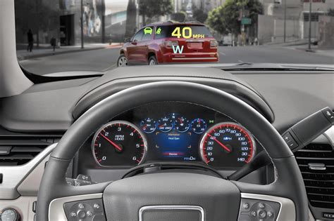 head  display systems  projecting  vision  car