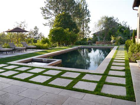 sunwashed mediterranean garden mediterranean pool