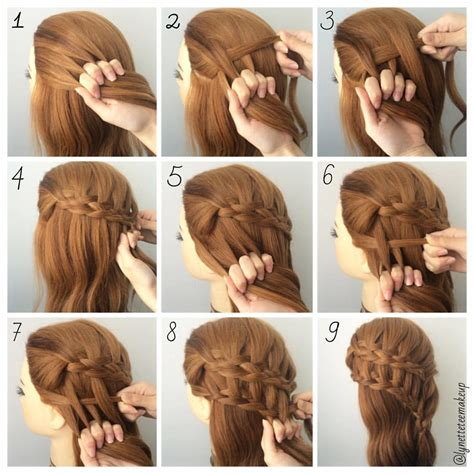 hairstyles easy step  step hair