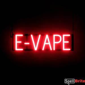 E VAPE Signs