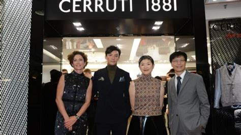 cerruti 1881 celebrate launch of flagship store in harbour city south china morning post