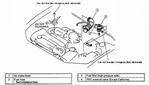 1988 Mazda Protege Fuel Filter  Need To Know Where The