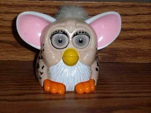 McDonald's Furbies Beige Furby with Spots and White Hair ...