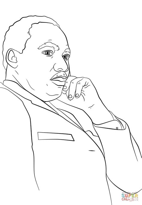 martin luther king jr coloring page martin luther king jr coloring page free printable