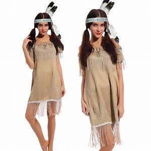 Indianer Damen Kostüm : indianer indianerin sioux squaw wilder westen kost m kleid indianerkost m ebay ~ Frokenaadalensverden.com Haus und Dekorationen