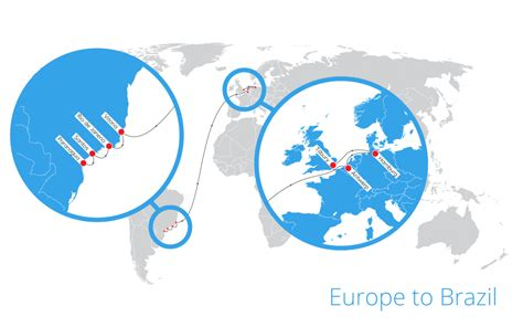 Ship Route by Shipping Routes Tuscor Lloyds