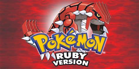 Pokmon Ruby Game Boy Advance Games Nintendo