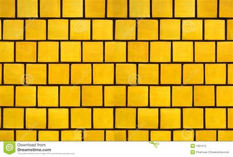 Yellow Tile Background Stock Photo   Image: 1931570