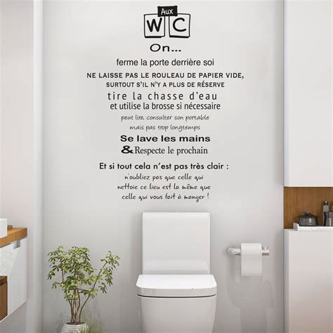 stickers muraux citations chambre stickers pour toilettes humour 28 images 25 best ideas