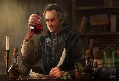 Regis Witcher Vampires Potions Alchemy Blood Wine