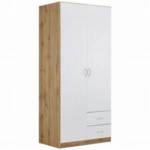 Kleiderschrank Weiß Eiche : kleiderschrank wei eiche online kaufen m max ~ Markanthonyermac.com Haus und Dekorationen
