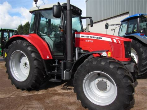 Massey Ferguson 6470, 09/2013, 460 hrs | Parris Tractors Ltd