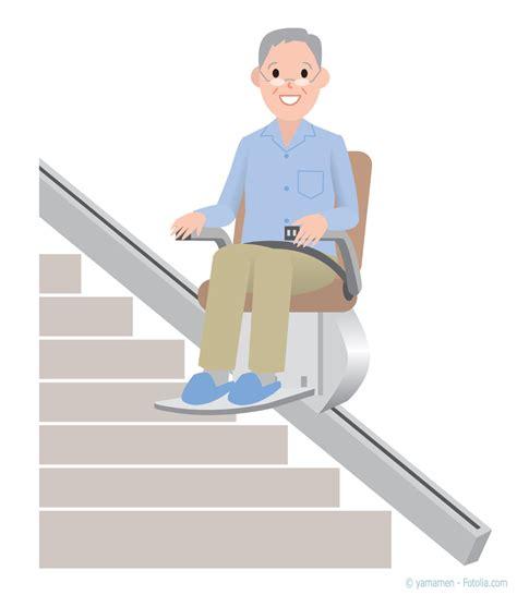 escalier pour personne agee monte escalier pour senior acc 233 der 224 l 233 tage en toute autonomie 224 l aide d un monte escalier