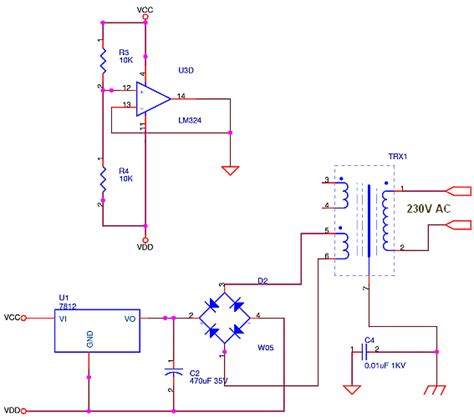 Opamp Supply Buffered Virtual Ground Delabs