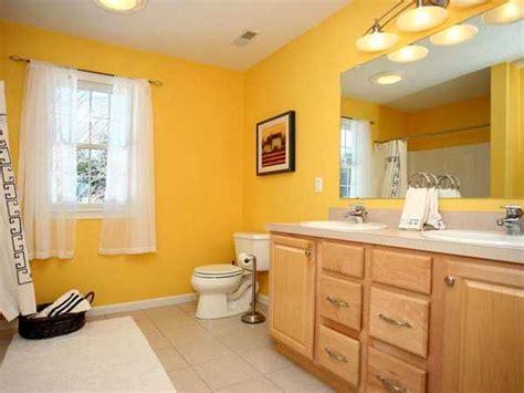 modern bathroom ideas adding sunny yellow accents  bathroom design
