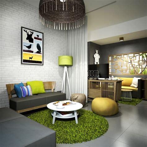 desain rumah tropis modern minimalis gaya resort