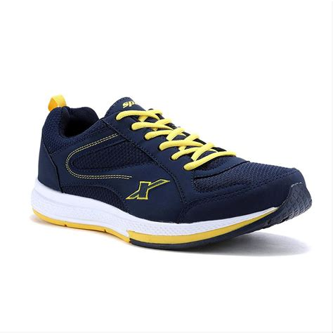 sparx running shoes navy blue  yellow buy sparx