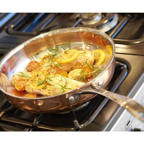 wilko cm tri ply copper frying pan wilko