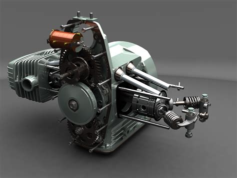 Dnepr Motorcycle Engine-may Winner