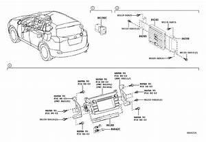 Toyota Rav4 Radio Amplifier  Amplifier  Stereo Component