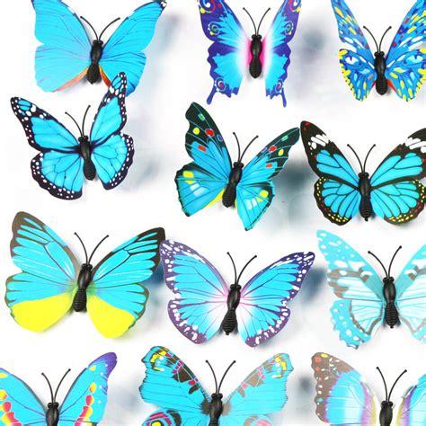 3d papillon d 233 coration murale promotion achetez des 3d