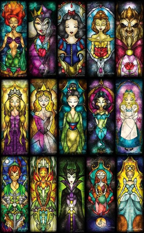 illustrations     stained glass art
