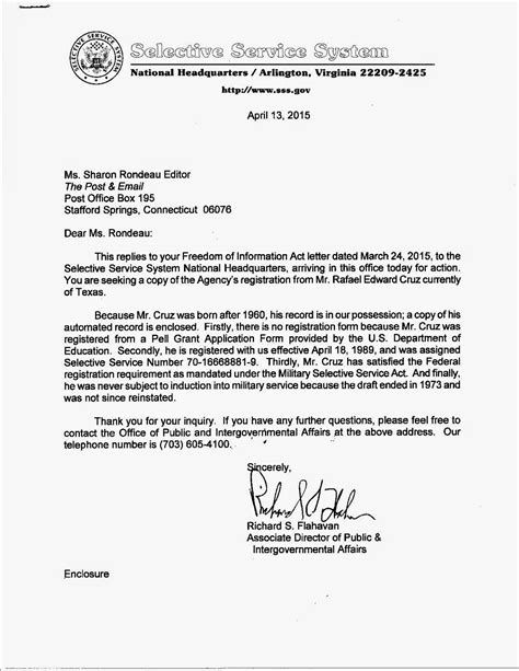 selective service system letter gaultier s ferocious conservative bulletin ted