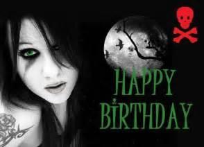 Happy Birthday Gothic