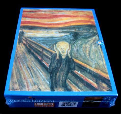 puzzle d 1000 pi 232 ces munch le cri the scream ebay
