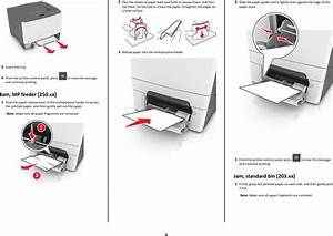 Lexmark Cs310 Quick Reference Guide