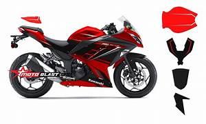Ninja 250 Fi Merah