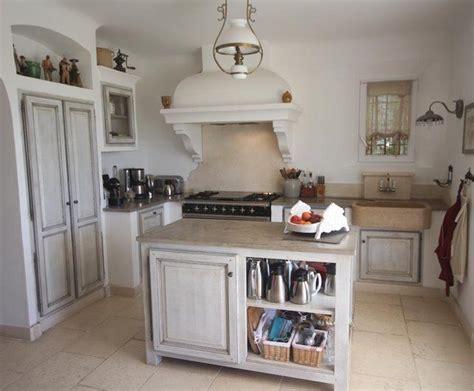 deco cuisine romantique photo deco cuisine blanc cagne maison de cagne sud