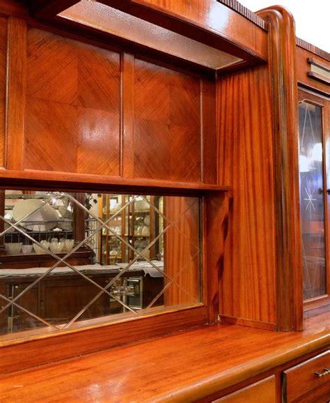 original 1920s mahogany deco front and back bar at 1stdibs
