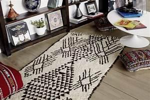 Beni Ourain Teppich : durch marokkanische teppiche schaffen sie ein unikales raumgef hl ~ Frokenaadalensverden.com Haus und Dekorationen